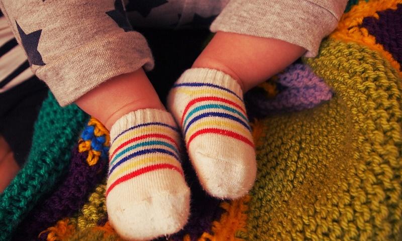 赤ちゃんのソックス